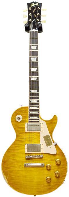 Gibson 1959 Les Paul Gloss Heavy Aged Lemon Burst #94580 Main Product Image