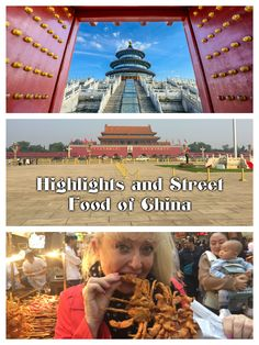Check out these short videos to see China's iconic sights and unique street food! http://luggageandlipstick.com/china-highlights-street-markets