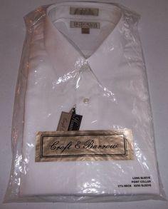 Croft Barrow Tuxedo Tux Shirt Men's 32/33  New in Package #Tuxedo
