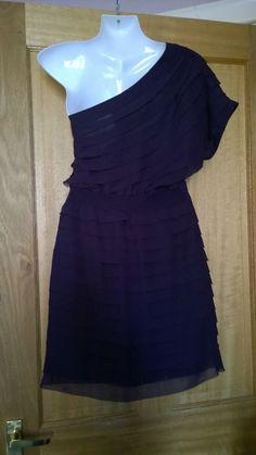Spotlight by Warehouse gorgeous purple one shoulder dress. One Shoulder, Shoulder Dress, Short Mini Dress, Wedding Outfits, Spotlight, Warehouse, Best Deals, Purple, Party