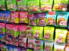 Marks and Spencer's ~soft fruit chew~ candy selections