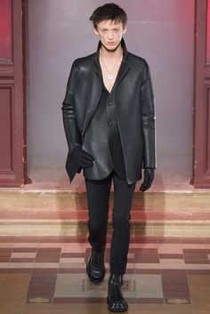 Lanvin Fall 2015 Menswear Fashion Show