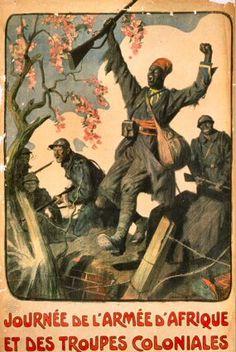 Journée de l'Armée d'Afrique et des Troupes coloniales (affiche).