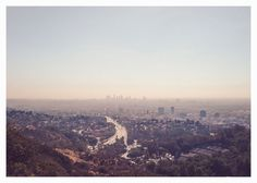 Los Angeles skyline photography print. There is nowhere quite like the City of Angels.    ☀PRINT TITLE ☀ City of Angels  ★ SIZE ★ 5 x 7