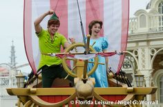 Festival of Fantasy Parade, peter and wendy <3333