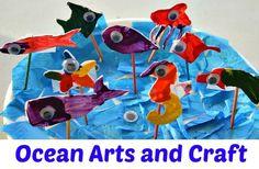 Crafts for kids : Ocean Craft