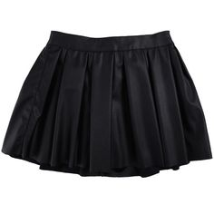Bardot Junior Girls Luxe Skirt ($43) ❤ liked on Polyvore featuring black and skirts