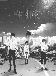 Von means Home | ZnT | Zankyou no Terror | Terror in Resonance | Twelve, Nine, Lisa Mishima | Shinichiro Watanabe | Anime | Fanart | Gif | SailorMeowMeow