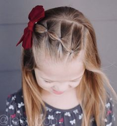 17 Simple and Adorable Toddler Girl Hairstyles for Medium to Long Hair - Just Si. 17 Simple and Adorable Toddler Girl Hairstyles for Medium to Long Hair - Just Simply Mom Easy Toddler Hairstyles, Easy Little Girl Hairstyles, Baby Girl Hairstyles, Braided Hairstyles, School Hairstyles, Office Hairstyles, Anime Hairstyles, Stylish Hairstyles, Hairstyles Videos
