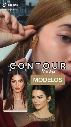 Contour Makeup, Skin Makeup, Makeup Videos, Makeup Tips, Maquillage On Fleek, Makeup Looks Tutorial, Edgy Makeup, Pinterest Makeup, Makeup Makeover