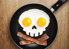 目玉焼きのスケルトン : 参考になる?アメリカや海外のハロウィン料理いろいろ - NAVER まとめ