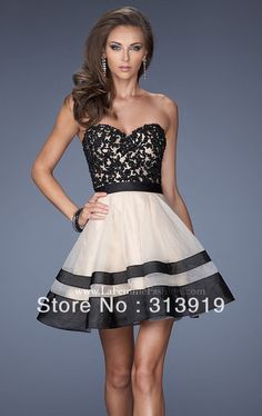 free shipping strapless sweetheart ball gown prom dresses short 2014 hot sale US $118.00