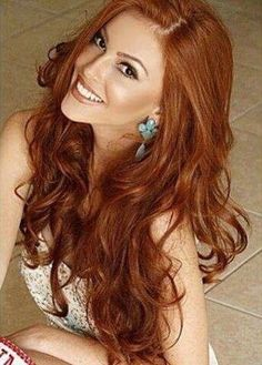 Pin by Otto Otto on Nice Long Red Hair, Girls With Red Hair, Beautiful Red Hair, Gorgeous Redhead, Red Hair Woman, Red Hair Color, Copper Hair Colors, Auburn Hair, Great Hair