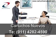 www.cartuchosnuevos.com - Te: (011) 4282-4590 -Cartuchos nuevos de toner y tinta originales y alternativos.