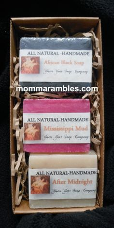 Win YesterYear Soap Gift Set! Ends 2/12 http://www.mommarambles.com/yesteryear-soap-company-review-giveaway/