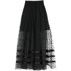 George J. Love Long Skirt ($130) ❤ liked on Polyvore featuring skirts, black, elastic waist maxi skirt, elastic waistband skirt, ankle length skirts, maxi skirt and elastic waist skirt