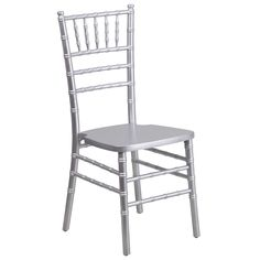 Complete your home decor while resting in this stylish wood chiavari chair.