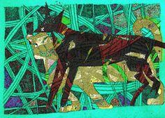 Pies i lew w Magda Rożynek na DaWanda.com