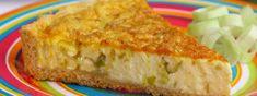 Quiche de alho-poró Quiches, Savory Tart, Quiche Lorraine, Cornbread, Pasta Recipes, Carne, Cheesecake, Menu, Breakfast