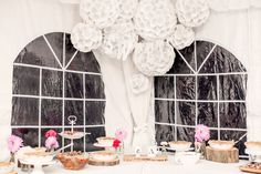 Sweets Table by Hoopla Event Design & Styling