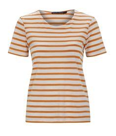 Sommermode 2013 - Ein luftiges Ringelshirt, dass sich perfekt kombinieren lässt.