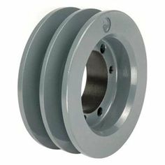 Sheave, QD, SDS, O D 4.95 In, 2 Groove by Tb Wood'S. $74.12. Quick Detachable Classical Cast Iron SheavesFor use with single or banded v-belts with either wrapped or cogged construction.Fine grain, high tensile cast ironSheave, Quick Detachable, Bushed Bore, Bushing Required SDS, Outside Dia. 4.95 In., 2 Groove, Solid Construction, 4L or A Belt Pitch Dia. 4.2 In., 5L or B Belt Pitch Dia. 4.6 In., Gray Color, Iron Material, For Use With A, AX, B Or BX Type V-belts