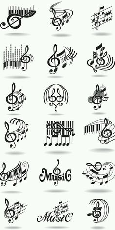 Notes, music staff and treble clef vector free clip art. Just what I needed for ., Tattoo, Notes, music staff and treble clef vector free clip art. Just what I needed for the rest often tattoo! Musik Clipart, Music Doodle, Music Drawings, Art Drawings, Music Tattoos, Music Staff Tattoo, Art Tattoos, Love Music Tattoo, Sheet Music Tattoo