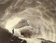 paradise glacier   mount rainier   1925