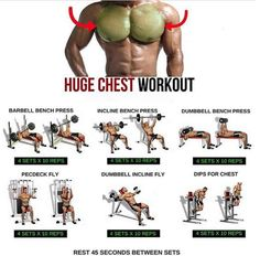 Huge Chest Workout! Fitness Training Plan
