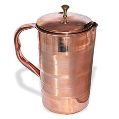 Pure Copper Jug with Lid for Health Benefits Indian Drinkware, Capacity 1.6 Litre RoyaltyLane http://www.amazon.com/dp/B00OO08YDM/ref=cm_sw_r_pi_dp_mIB3ub1EBYMEK
