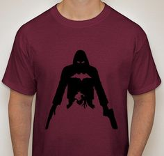 Red Hook Sihouette T-Shirt by DJsDecals on Etsy