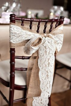 Chair Decorations