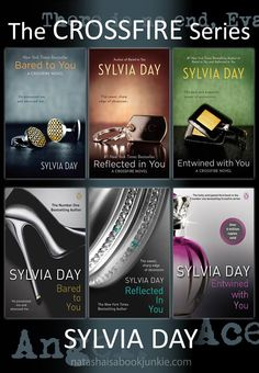 The Crossfire Series - book covers