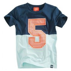 Z8 - T-shirt Marlon navy mint