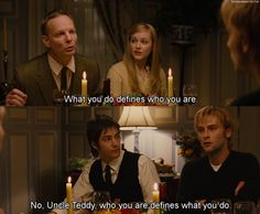 Across the Universe  or maybe, who you are defines how you do it