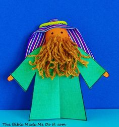 Biblical characters with plastic spoons and. Moses Bible Crafts, Bible Study Crafts, Bible Crafts For Kids, Crafts For Kids To Make, Toddler Crafts, Puppets For Kids, Bible Illustrations, Puppet Crafts, Christian Kids