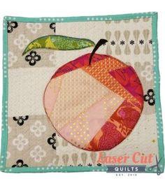 Sew Peachy Laser-Cut Mini Quilt