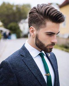 Coiffures gélatineuses de charme pour homme