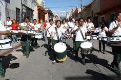 La #BandaMonumental del #P04Cuautla fue ovacionada por su participación en el desfile realizado en la capital de #Morelos