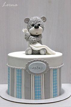 Cute Teddy Bear by Lorna