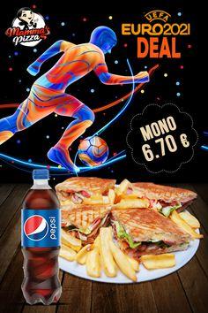 ⚽️ Έφτασε η πιο συναρπαστική στιγμή του καλοκαιριού! Το UEFA Euro 2021 είναι εδώ και η Mamma's Pizza σου φέρνει αποκλειστικές προσφορές για να απολαύσεις τους αγαπημένους σου αγώνες. Βάλε γκολ στην απόλαυση με τα καλύτερα pizza και burger deals! 🛒 www.mammaspizza.gr ☎ 2321050888