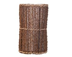 This Wicker Table Lamp will compliment any room and offers a warm glow to enhance your decor. Natural wicker woven around a cream shade. #natural #wicker #table #lamp