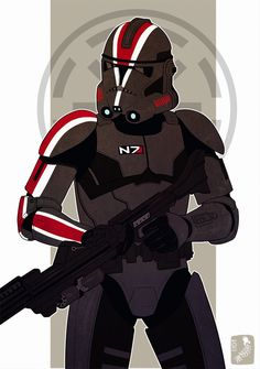 N7 clonetrooper by ~Zarnala on deviantART
