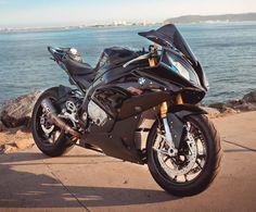 Black BMW S1000RR