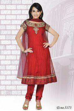 Latest Designed #Chudidar @ select tailor