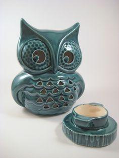 vintage ceramic lantern