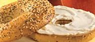 Toasted Bagel & Cream Cheese or Butter Tim Hortons, Voici, Bagel, Creme, Sandwiches, Toast, Menu, Butter, Breakfast