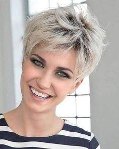 Cheveux gris 55 coiffures qui ne font pas mamie en 2018
