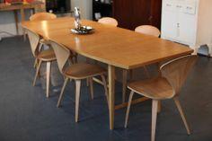 Paul Mccobb FOR Calvin Maple American Modern Extendable Dining Table | eBay