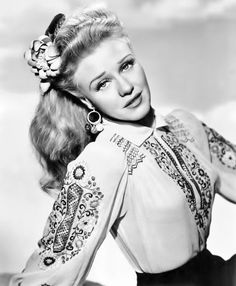Ginger Rogers by Clarence Everett, mid 1940's.